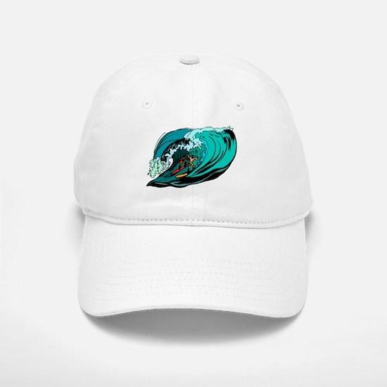 SURFIN' Baseball Baseball Cap
