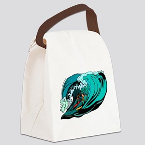 SURFIN' Canvas Lunch Bag