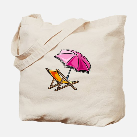 BEACH CHAIR [3] Tote Bag