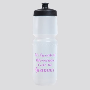 My Greatest Blessings call me Grammy Sports Bottle