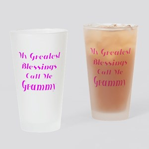 My Greatest Blessings call me Grammy Drinking Glas