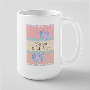 Retired NICU Nurse Large Mug
