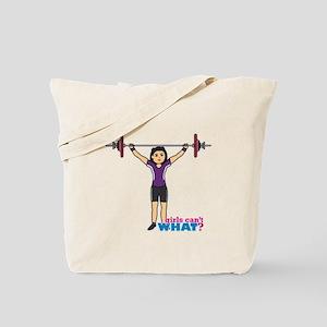 Weight Lifter Medium Tote Bag