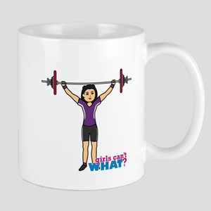 Weight Lifter Medium Mug