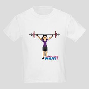 Weight Lifter Medium Kids Light T-Shirt