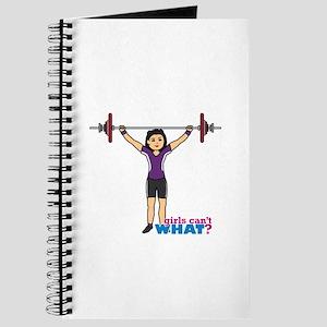 Weight Lifter Medium Journal