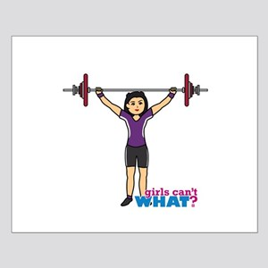 Weight Lifter Medium Small Poster