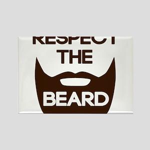 Respect The Beard Magnets