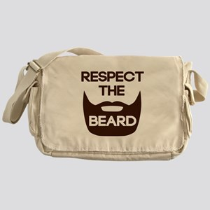 Respect The Beard Messenger Bag
