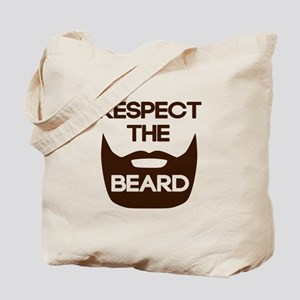 Respect The Beard Tote Bag