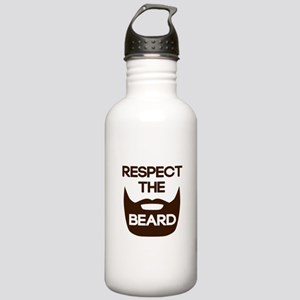 Respect The Beard Water Bottle