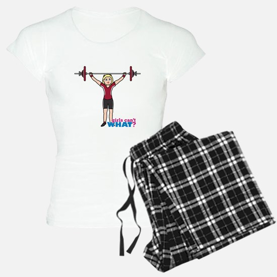 Weight Lifter Light/Red Pajamas