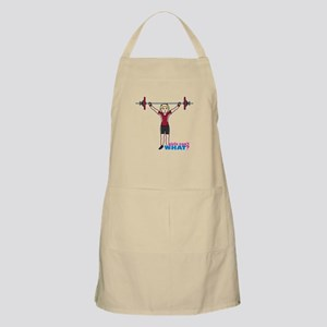 Weight Lifter Light/Red Apron