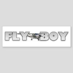 Fly Boy Aviation Bumper Sticker