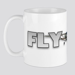 Fly Girl Aviation Mug