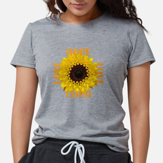 COPD Hope Sunflower T-Shirt