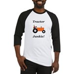 Orange Tractor Junkie Baseball Jersey
