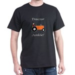 Orange Tractor Junkie Dark T-Shirt