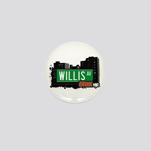 Willis Av, Bronx, NYC Mini Button