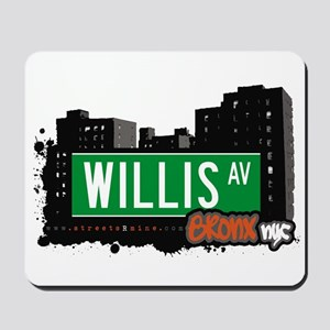 Willis Av, Bronx, NYC Mousepad