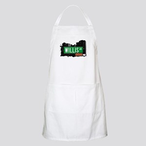 Willis Av, Bronx, NYC BBQ Apron