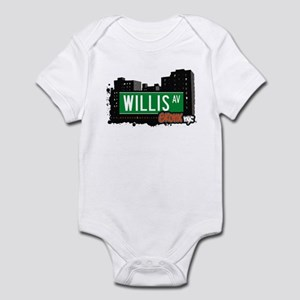 Willis Av, Bronx, NYC Infant Bodysuit