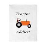 Orange Tractor Addict Twin Duvet