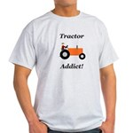 Orange Tractor Addict Light T-Shirt