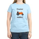 Orange Tractor Addict Women's Light T-Shirt