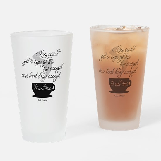 A Cup of Tea Drinking Glass
