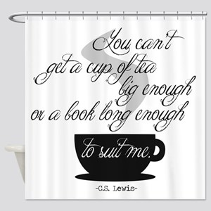 A Cup of Tea Shower Curtain