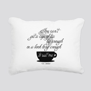 A Cup of Tea Rectangular Canvas Pillow