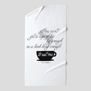 A Cup of Tea Beach Towel