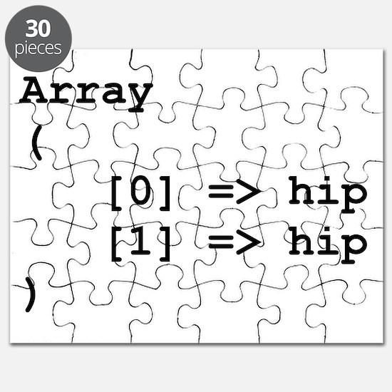 Hip Hip Hooray Programming Array Puzzle