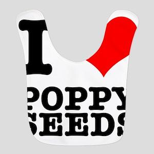POPPY SEEDS Bib
