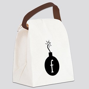 Drop the F Bomb Canvas Lunch Bag