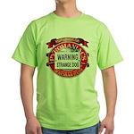 Strange Dog Green T-Shirt