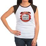 Strange Dog Women's Cap Sleeve T-Shirt