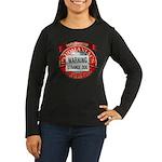 Strange Dog Women's Long Sleeve Dark T-Shirt