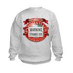 Strange Dog Kids Sweatshirt