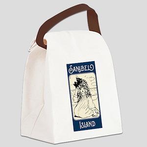 Forever Sanibel Canvas Lunch Bag