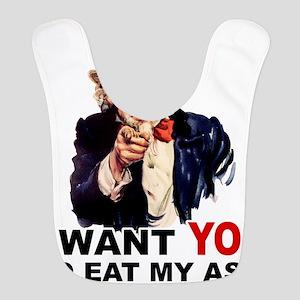 EAT MY ASS Bib