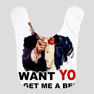 Uncle Sam Want You to GET ME A BEER Bib