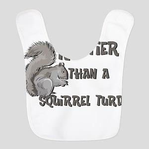 nuttier than squirrel turd black Bib