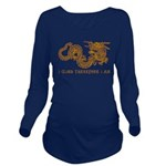 I Climb Zen Dragon Long Sleeve Maternity T-Shirt