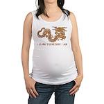 I Climb Zen Dragon Maternity Tank Top