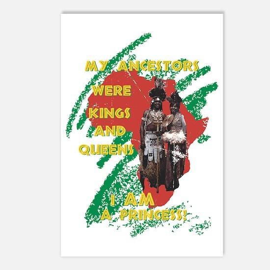 My Ancestors Princess Postcards (Package of 8)