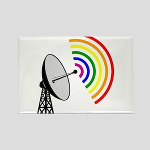 Gaydar Gay Rainbow LGBT Radar Magnets
