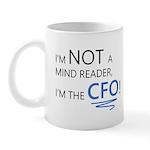 I'm Not A Mind Reader Mugs
