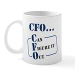 Cfo Can Figure It Out Mugs